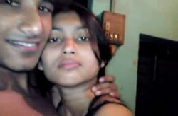 Bangla Colg  Babe in Bra Panty Smooch n Dick Show by BF wid Audio ~2 Clips Merged ~=Kingston=