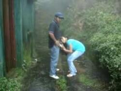 Archana Fuked Hard n Moaning in Rainy Garden 5 Mins =Kingston=