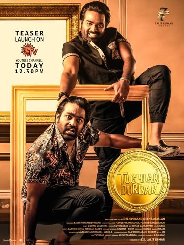 Tughlaq Durbar (2021) 1080p WEB-DL AVC DDP 5 1 [Dual Audio][Temil+Telugu] MSub-DUS